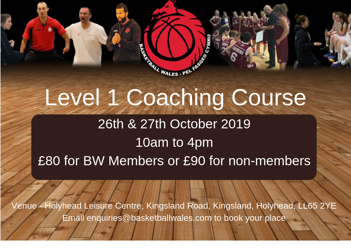 Basketball Wales Level 1 coaching Course NW