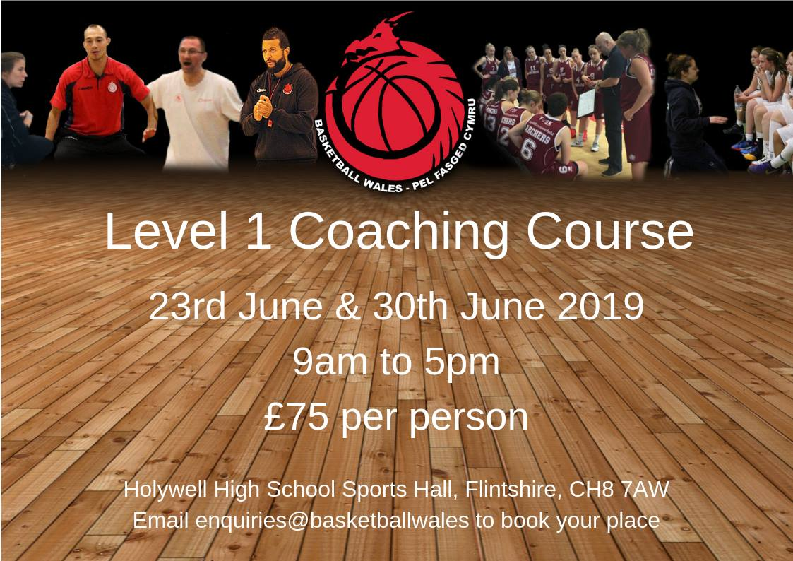 Basketball Wales Level 1 Coaching Course